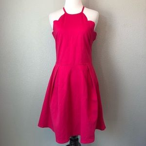 NWT Charlotte Russe pink dress size large